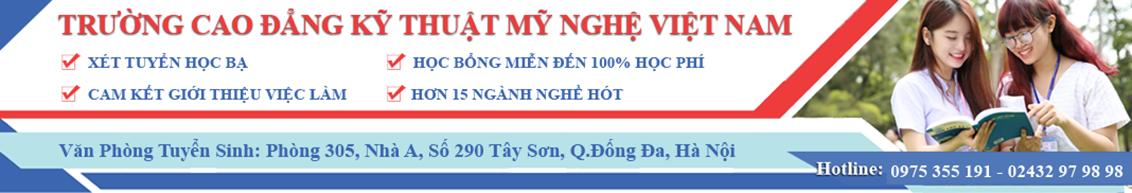 Cao Đẳng Kỹ Thuật - Mỹ Nghệ Việt Nam